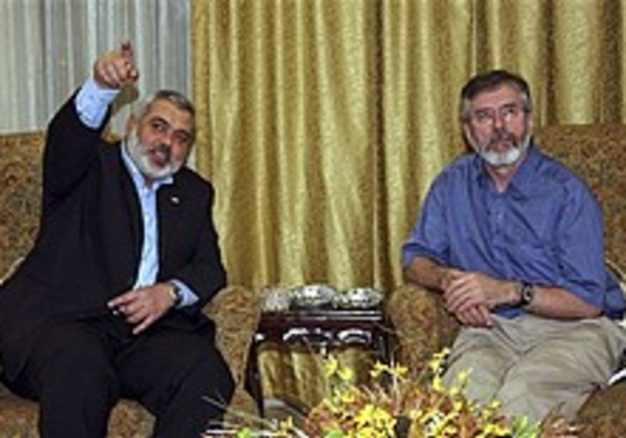 Gerry Adams tells 'Post': Hamas wants peace