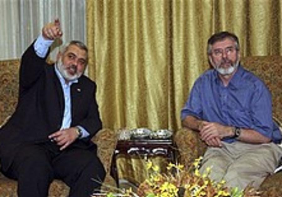Blair intervenes to get Adams into Gaza
