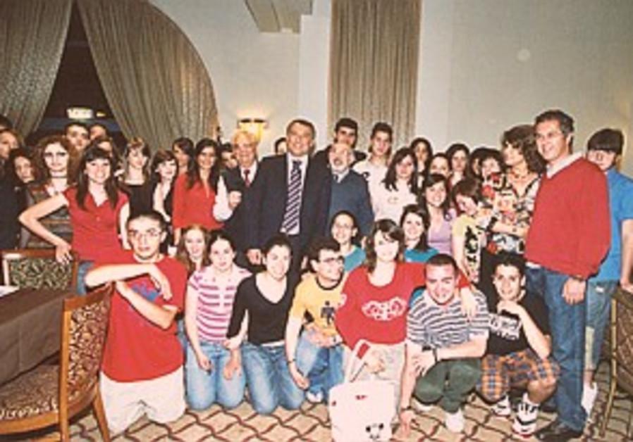 Italian students visit as part of Shoah study