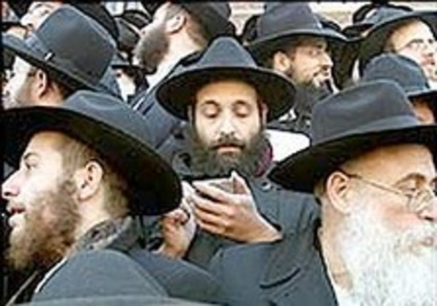 Fiendish fables about Orthodox Jews