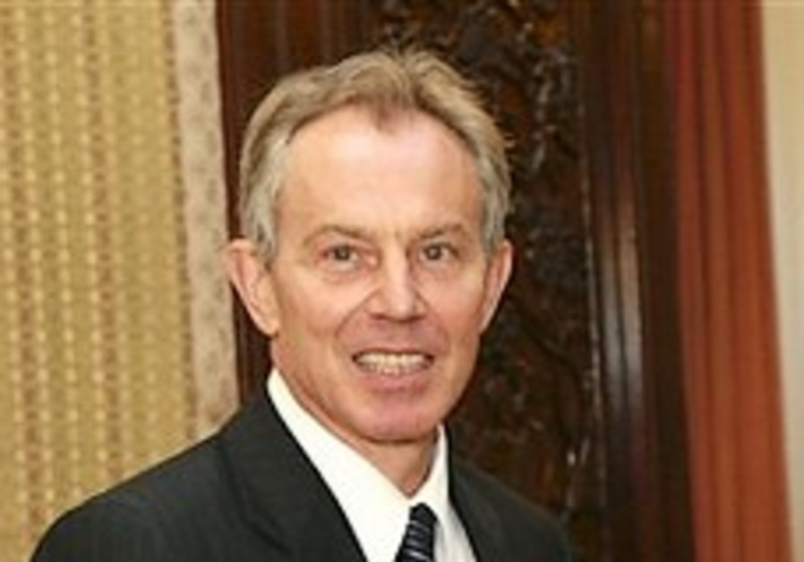 Blair: I won't give up on Mideast peace