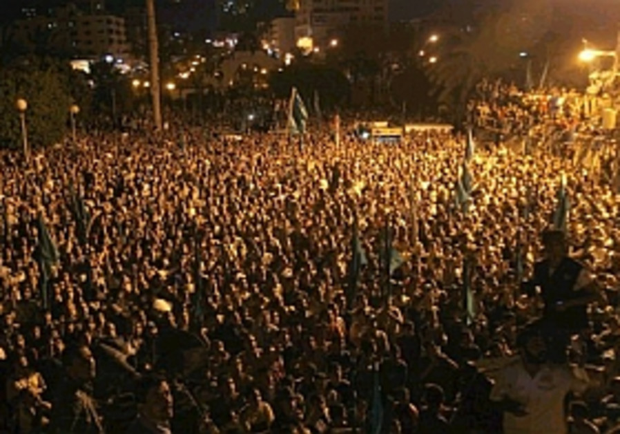 gaza rally after 12 dead, 298.88 ap