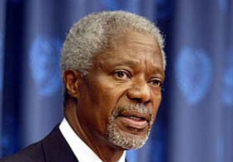 Annan: UN won't 'wage war' in Lebanon