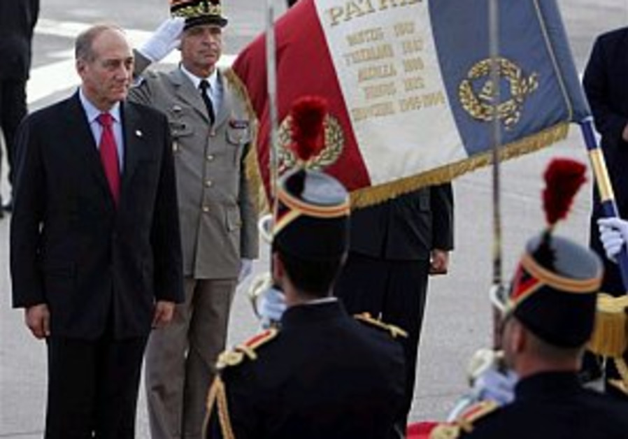 Olmert: Abbas is a courageous partner