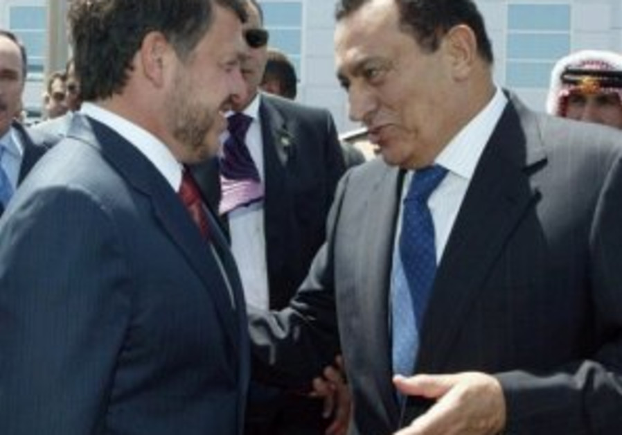 Egypt, Jordan discuss ME situation