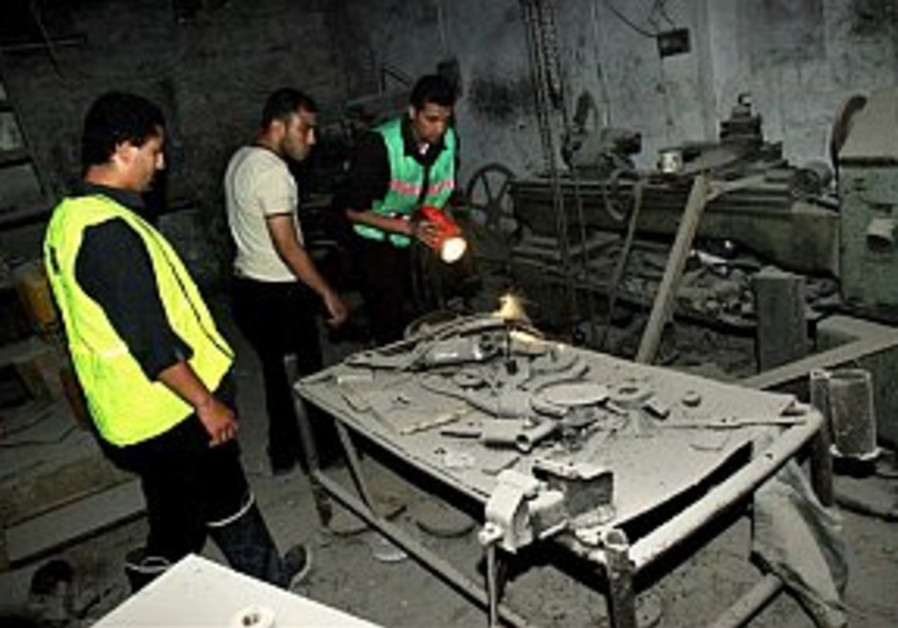 IAF hits arms factory in Gaza