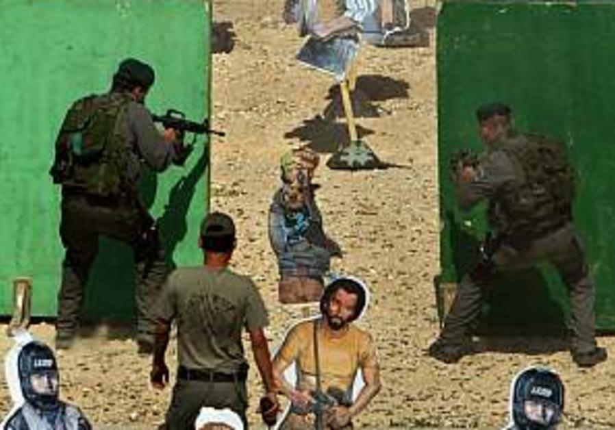 American security officers visit Israel