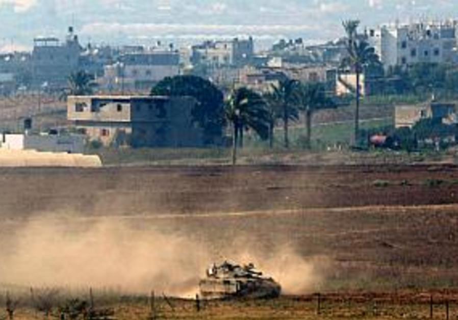 idf tank in beit hanoun, 298 aj