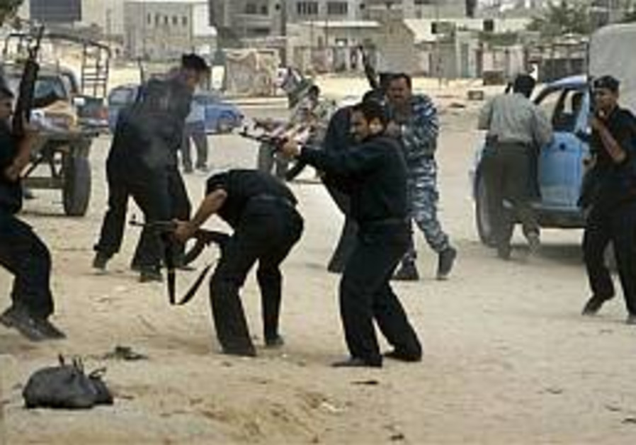 pals fight each other in gaza 298 ap