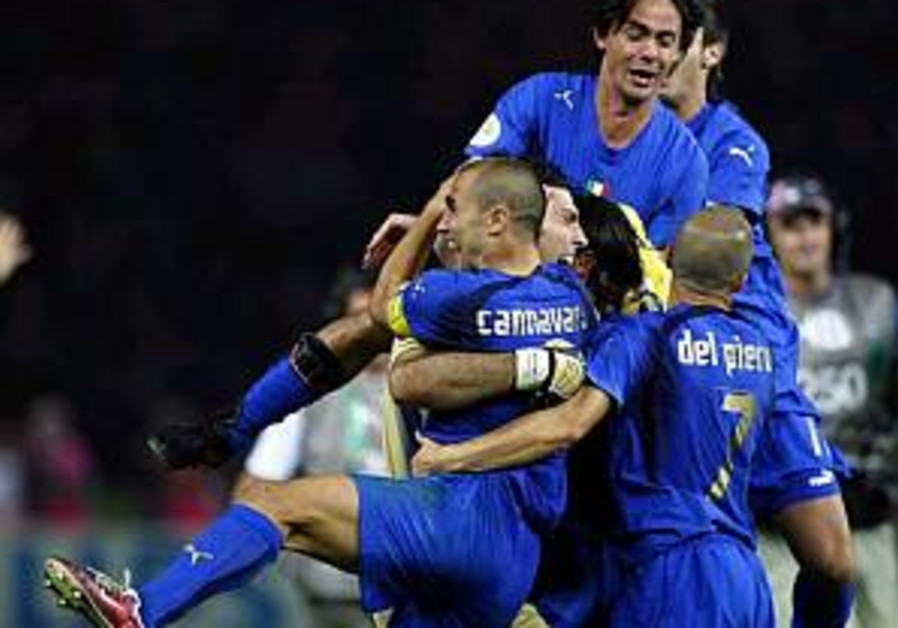 Italy wins World Cup on penalties