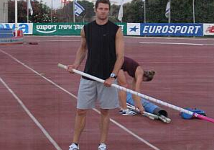 World-champion pole vaulter ready for Israeli Championships
