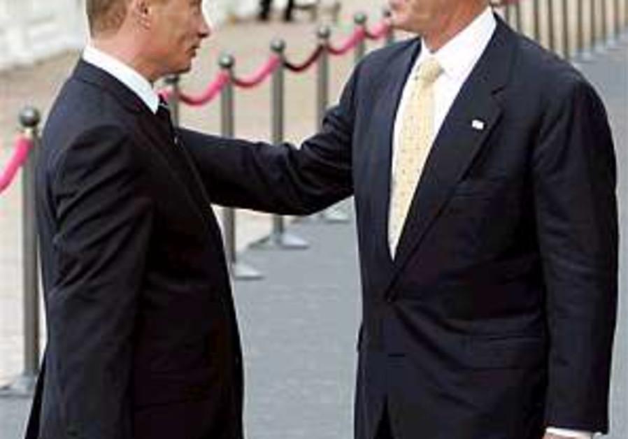 Bush blames flareup on Hizbullah