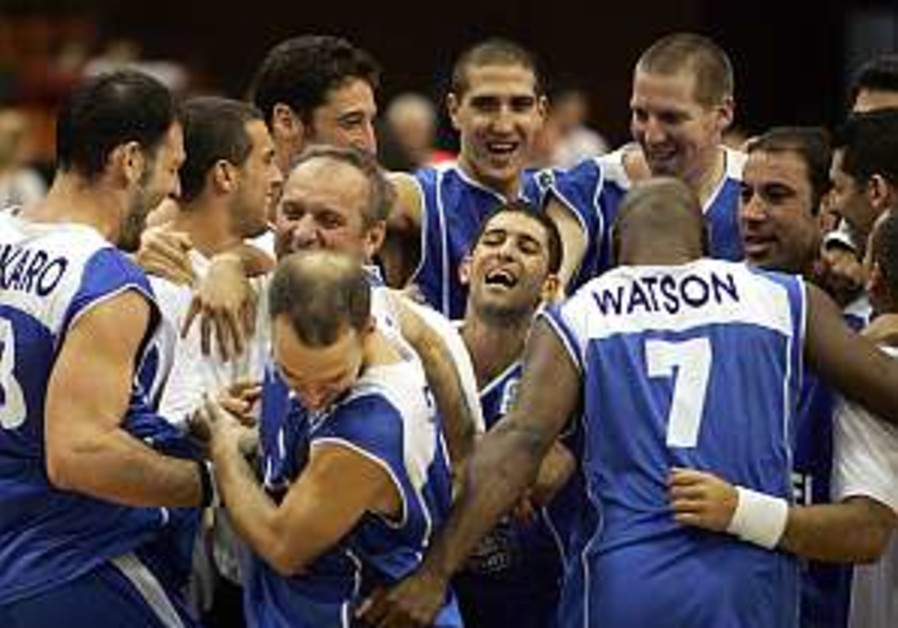 Israeli hoopsters aim for London 2012