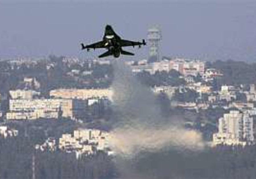 IAF fighter jets fly low over Lebanon