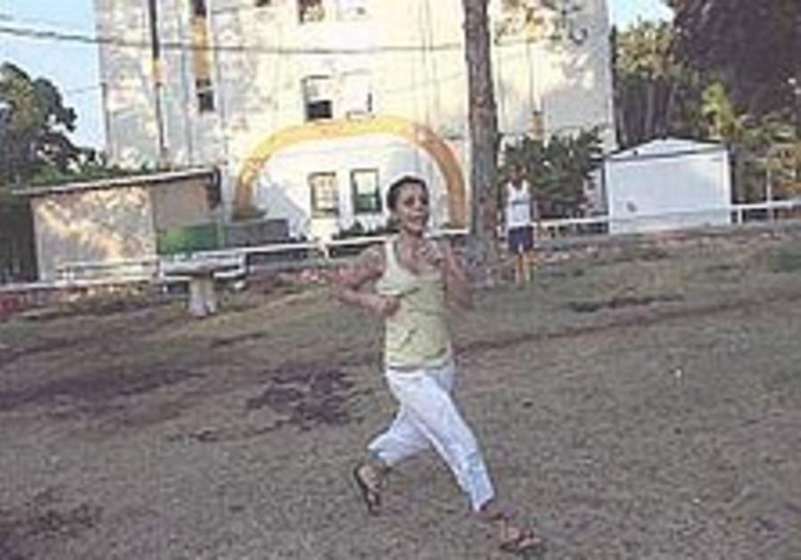 nahariya resident runs for cover 298.88