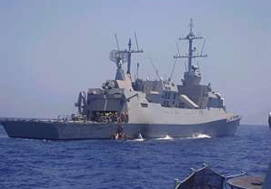 ins lahav navy ship 298