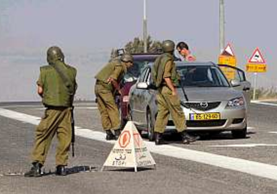 idf checkpoint in north 298.88