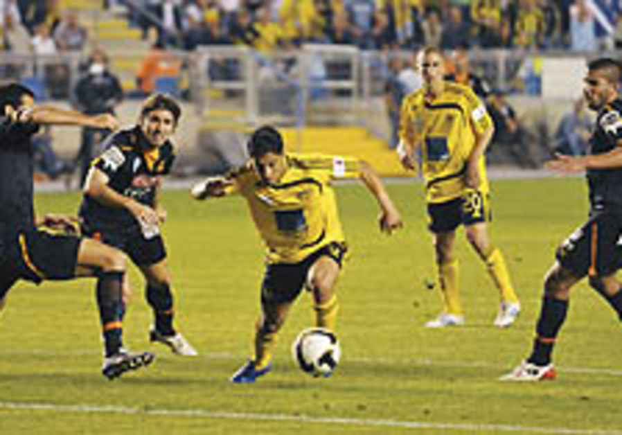 Local Soccer: Betar's title hopes slip away with 2-2 draw