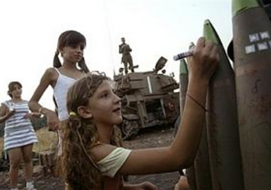 Online controversy over graffiti by Israeli kids