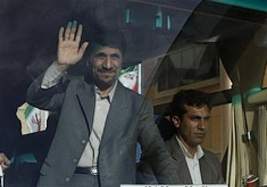 Ahmadinejad: 'Iran is like a train with no brakes'