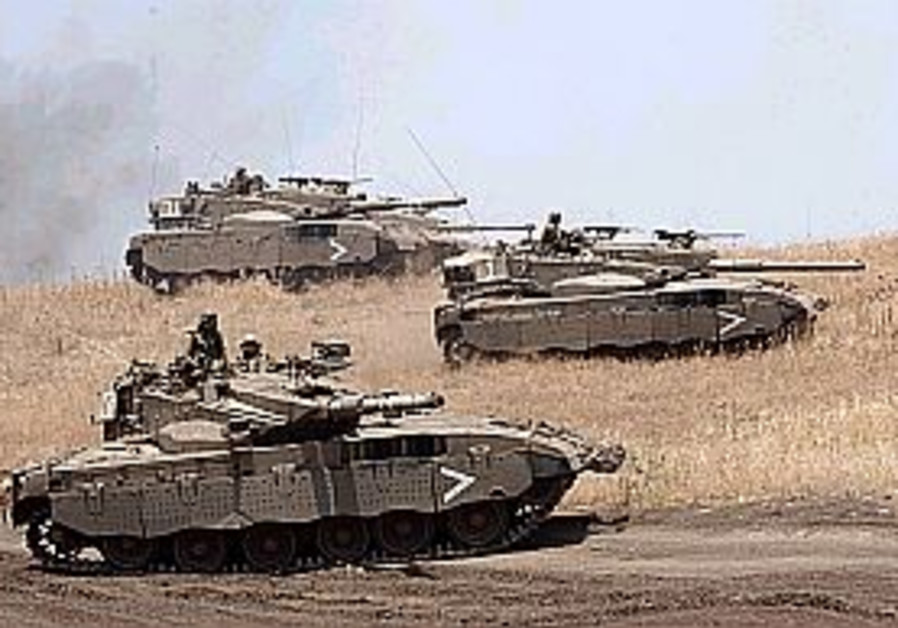 IDF prepares for Syrian attack on Golan