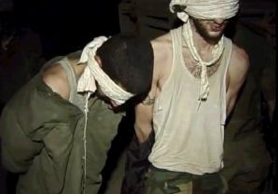 hizbullah captives 298 blindfolded