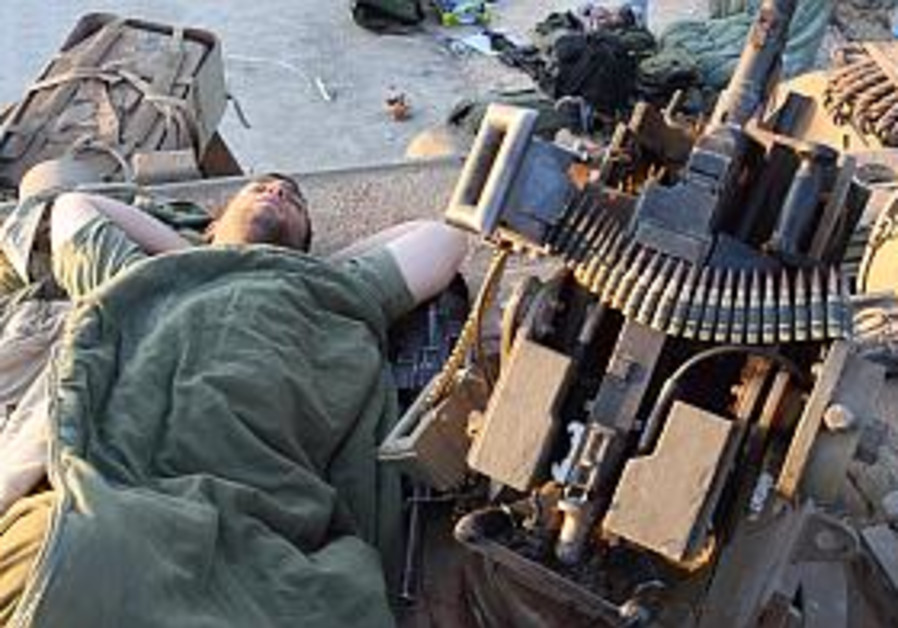 Sleeping Golani soldier left in Gaza