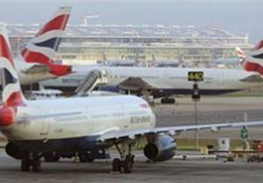 Most European flights to UK canceled