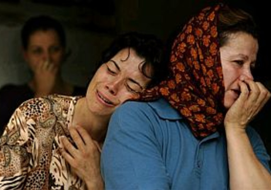 Mother and son killed in rocket attack