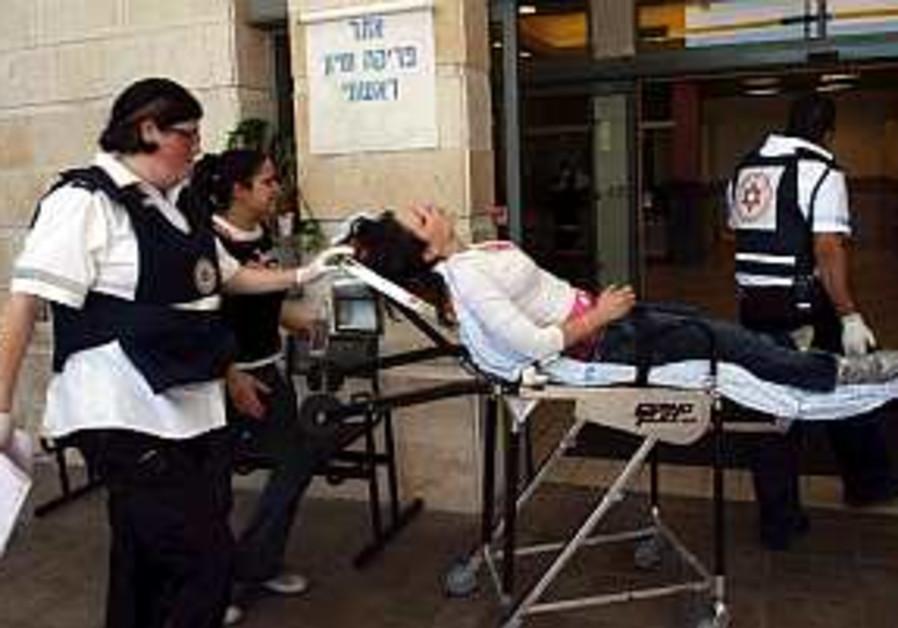 wounded stretcher hospital ambulance