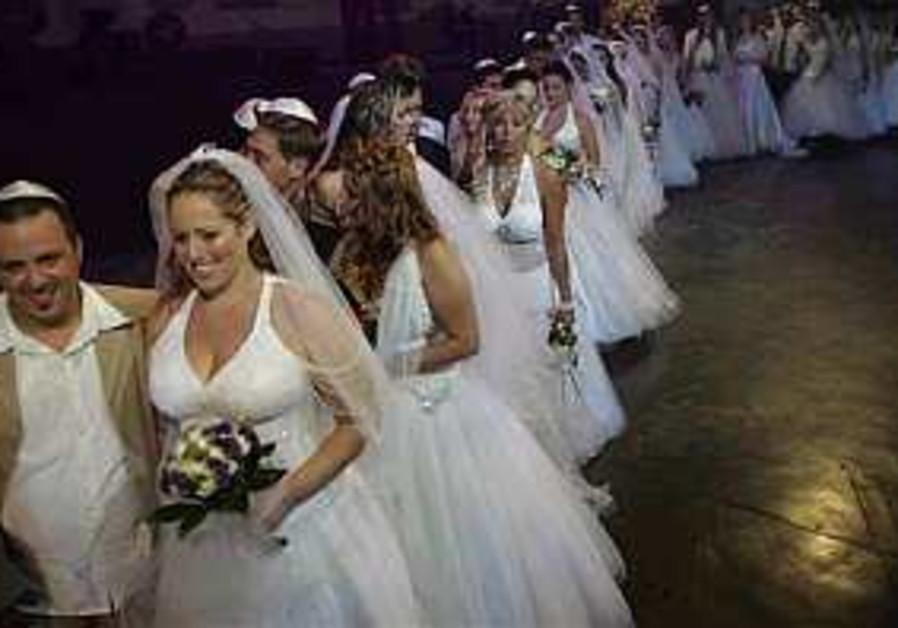 Forget war, let's get married
