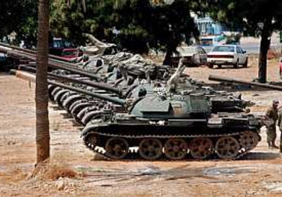 Lebanese patrol reaches Israeli border