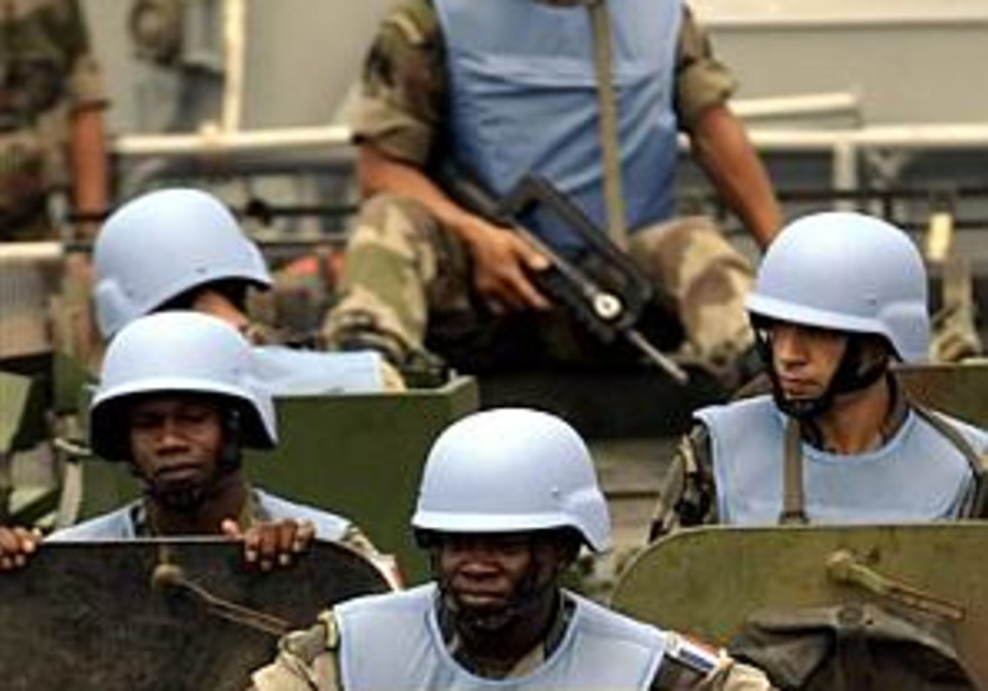 Analyze This: Would international peacekeepers herald peace?