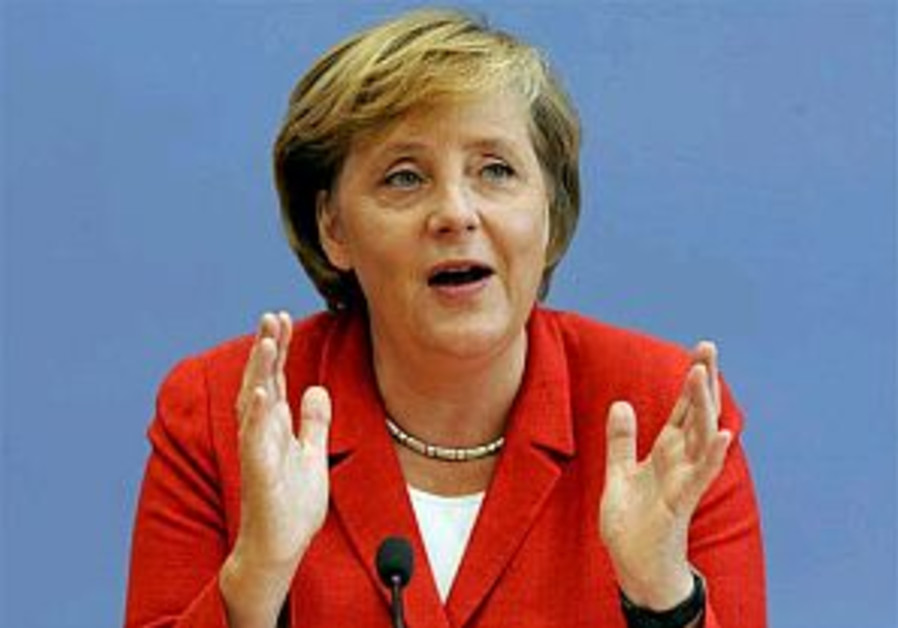 Merkel commences visit to MidEast