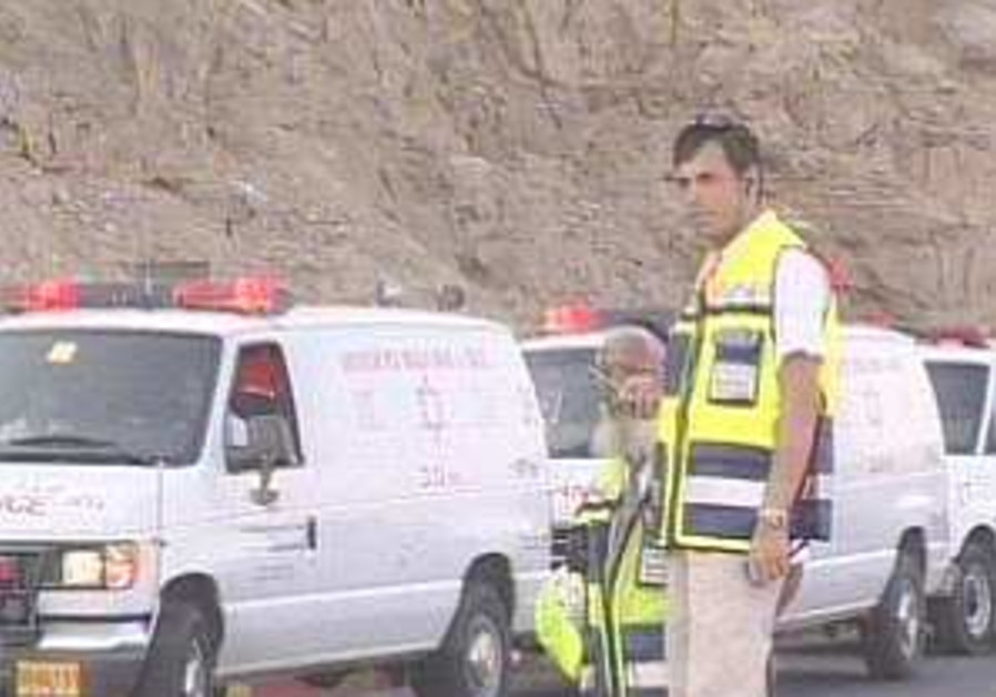 1 Israeli dead, 10 injured in traffic accident in Jordan