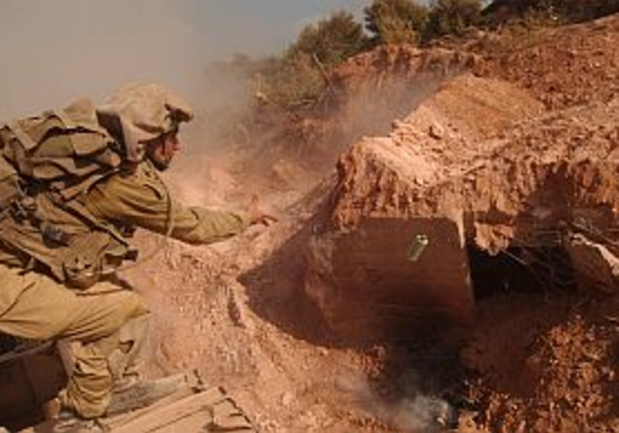 IDF uncovers Hizbullah bunker