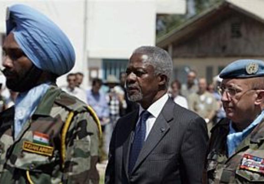 Kofi Annan has no new information on IDF captives