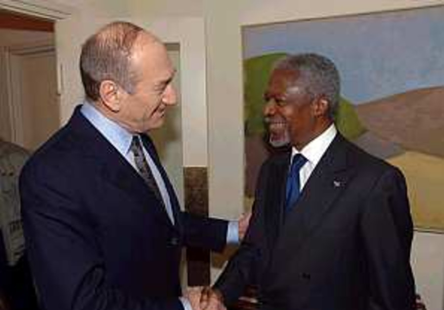 Annan slams treatment of Palestinians