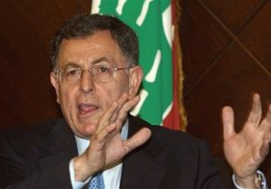 Saniora: Moscow could contribute to normalization in Lebanon