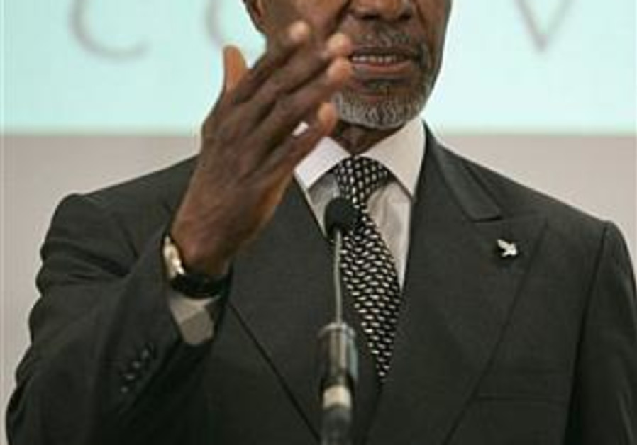 Annan calls for regional cooperation