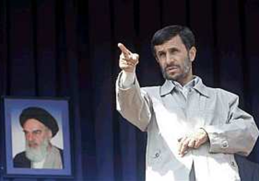 Ahmadinejad to West: 'You are nobody'