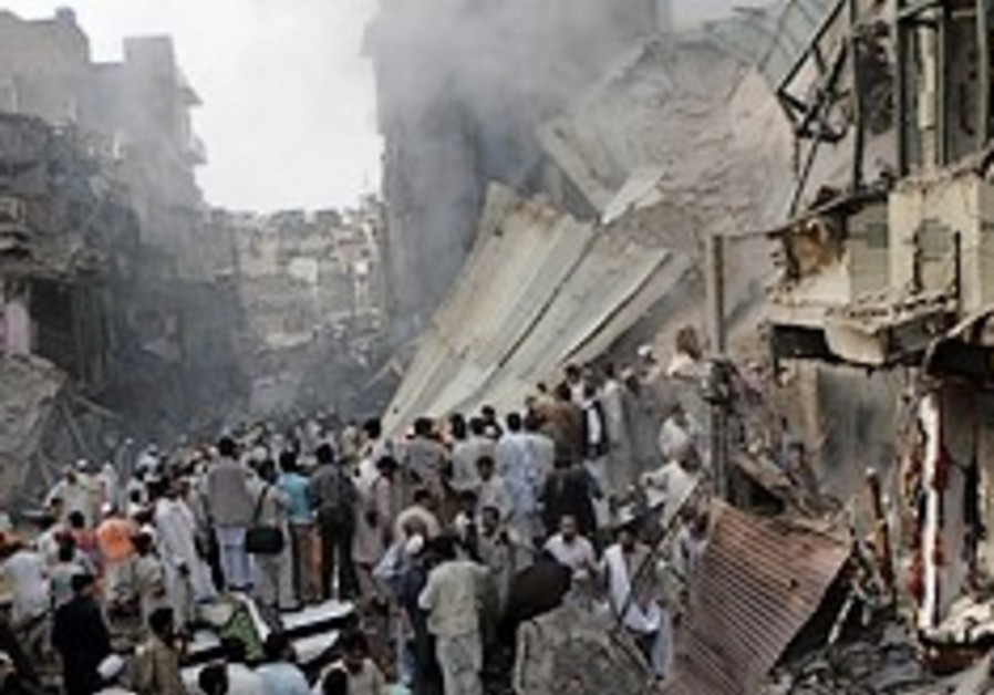 pakistan bombing oct 28,2009