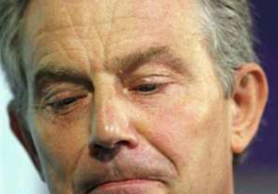 Tony Blair's long goodbye