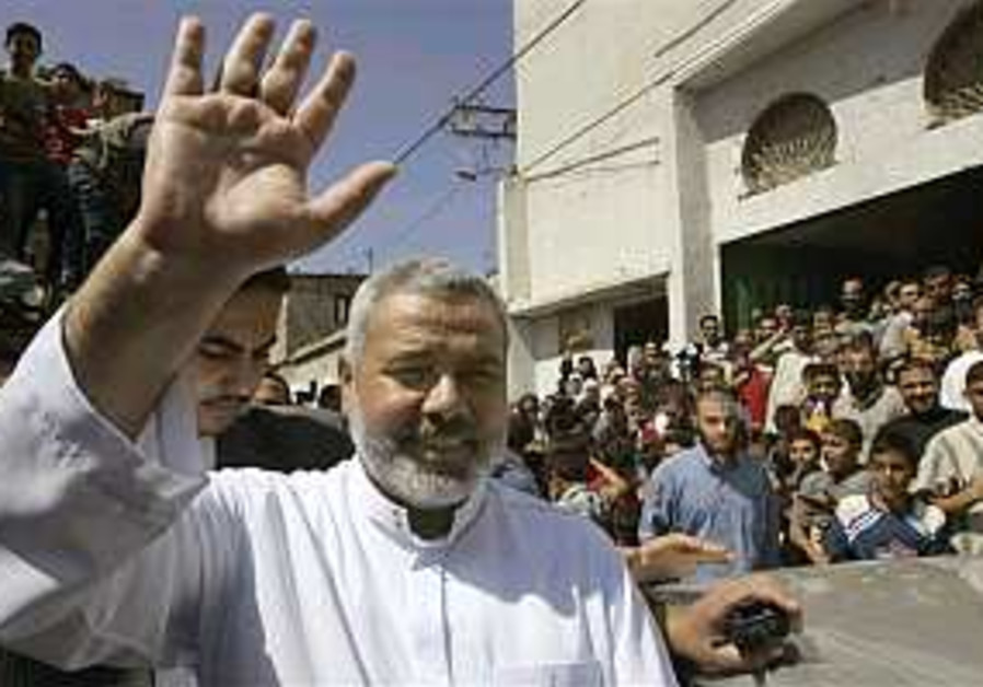 Haniyeh again refuses to recognize Israel