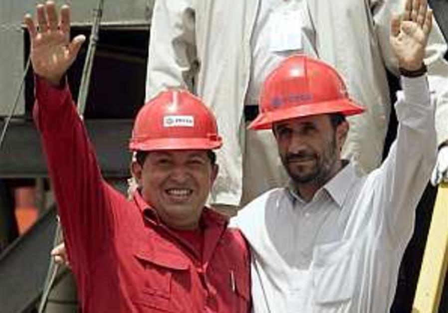 Venezuelan Jews fear Chavez-Iran ties