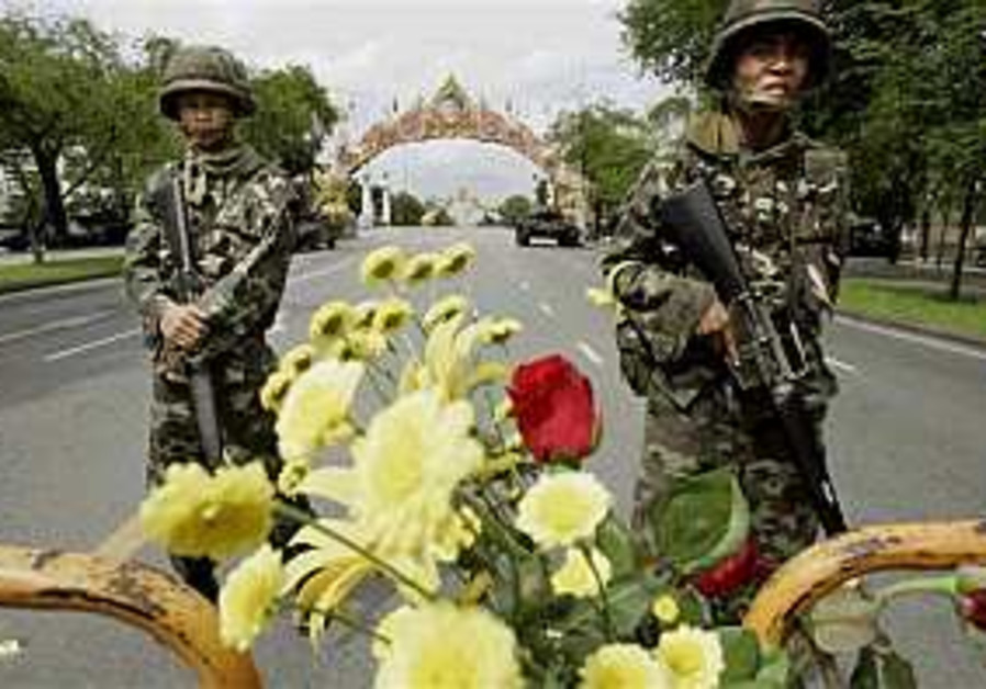 Thai coup leader takes control, calm ensues