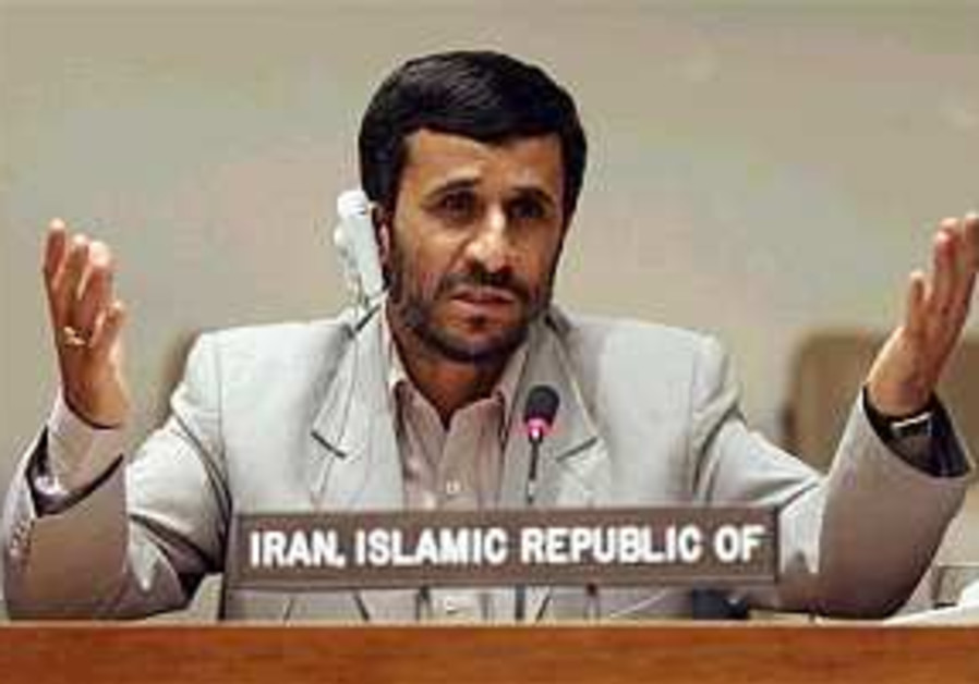Ahmadinejad: We do not need the bomb