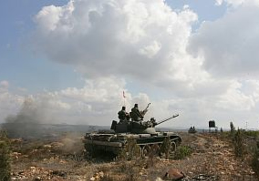Lebanese army reaches border