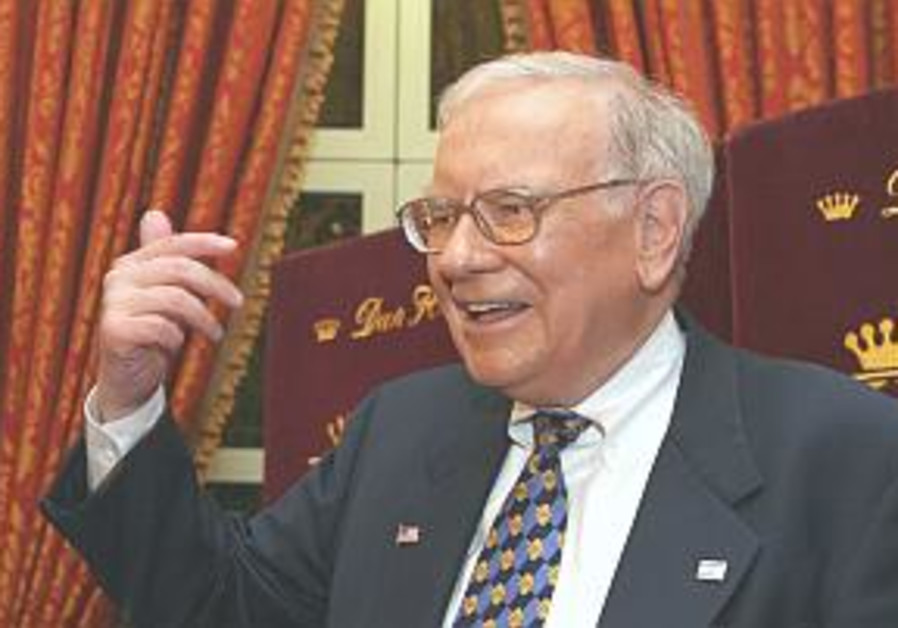 Buffett: 'Israel has a disproportionate amount of brains'