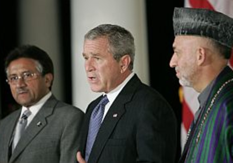 Bush urges Asian anti-terror allies to cooperate